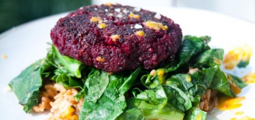 You Can't Beet These Quinoa Veggie Burger