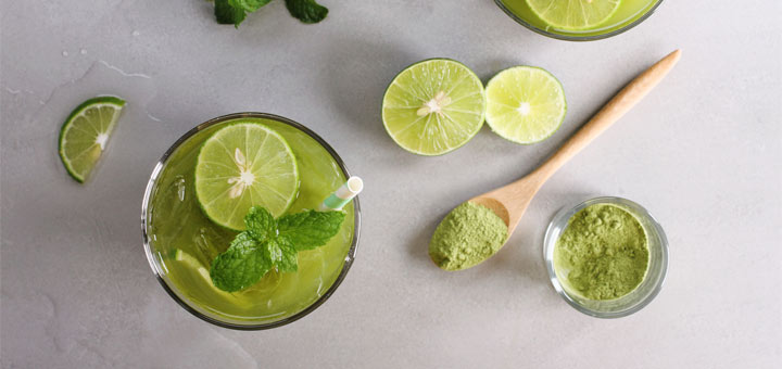 3 Ingredient Matcha Lemonade That Alkalizes The Body
