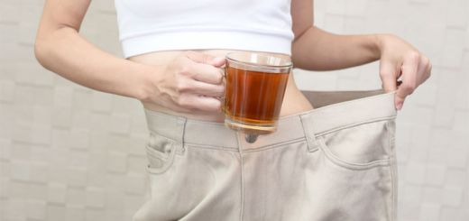 woman-weight-loss-tea