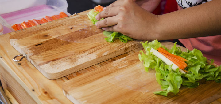 Asian Lettuce Wraps That Are Vegan And Raw