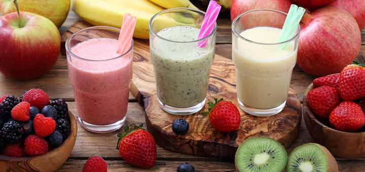 three-smoothies