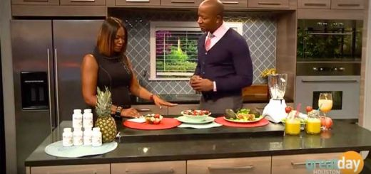 Dherbs CEO Explains Raw Foods Diet On Great Day Houston