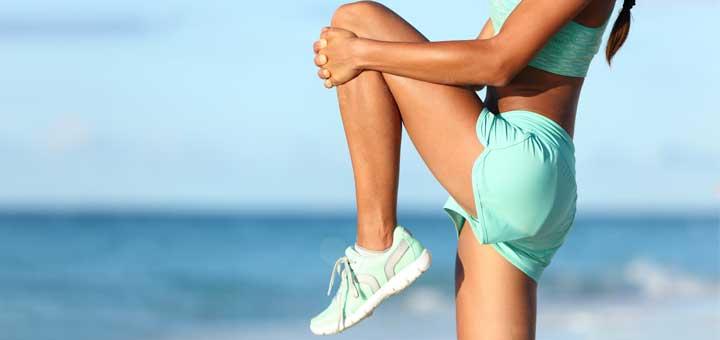 knee-stretch-beach