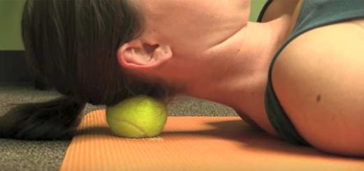 Tennis Ball Tricks For Relieving Overall Body Pain
