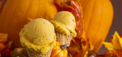 Pumpkin Banana Ice Cream That's Raw & Vegan