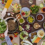 vegetarian-spread