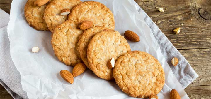 3-Ingredient Vegan Paleo Almond Butter Cookies