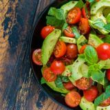 tomato-avocado-salad