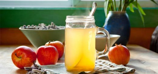 Apple Cider Vinegar Morning Detox Drink