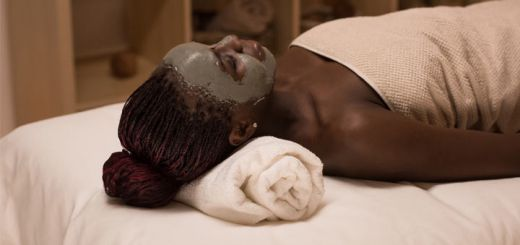 black-woman-facial-mask