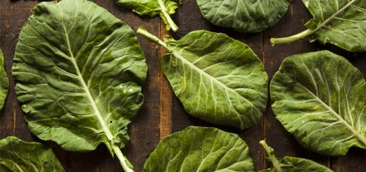 Marinated Ginger Collard Greens