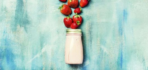 Strawberry Basil Salad Dressing