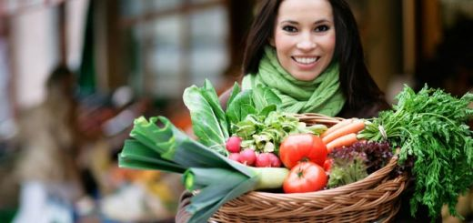 woman-vegetable-basket