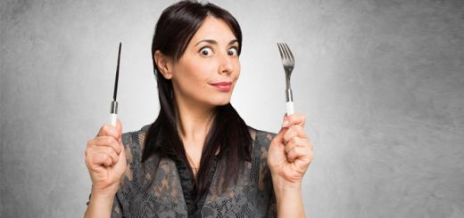 woman-holding-fork-and-knife