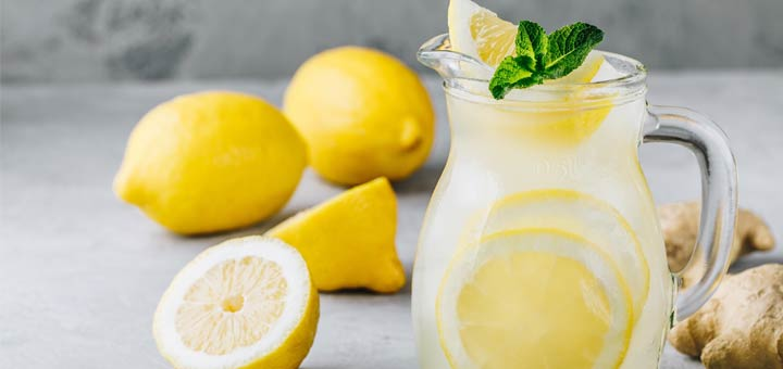 Refreshing Ginger Lemonade