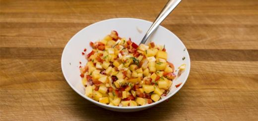 Make This Nectarine Salsa ASAP…You'll Thank Us Later