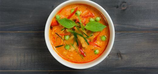 Spicy Thai Vegetable Red Curry