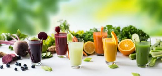 different-vegetable-juices