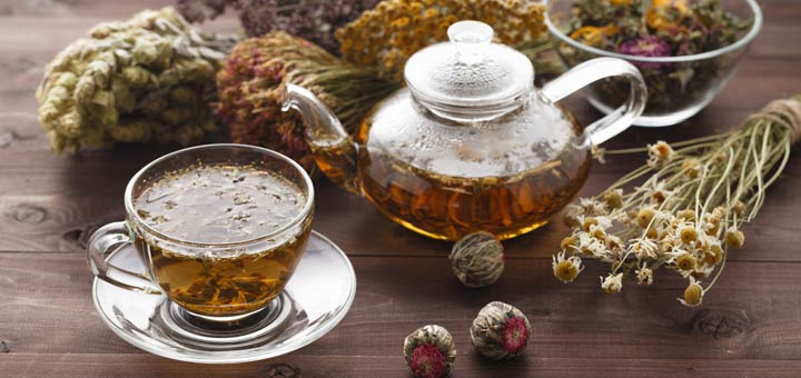 herbs-and-teapot