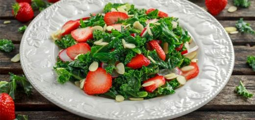 strawberry-kale-salad