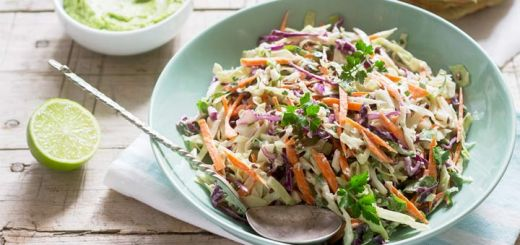 Crunchy Cabbage Salad With A Thai-Inspired Dressing