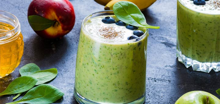 peach-banana-green-smoothie