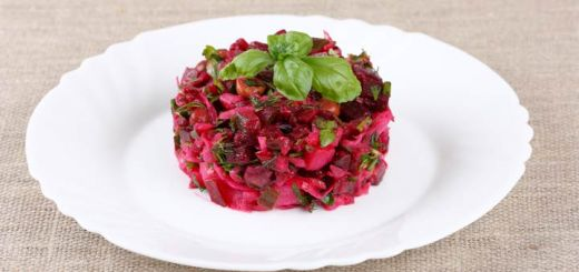Grated Beet & Shaved Fennel Salad