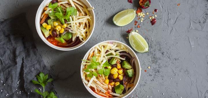 Savory Vegan Enchilada Soup
