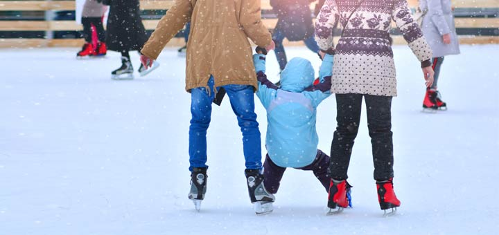 family-ice-skating-winter