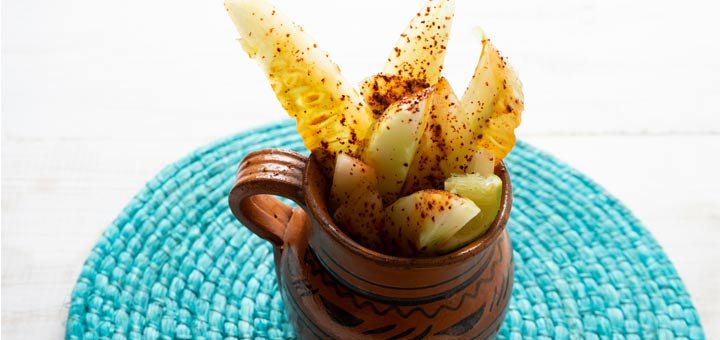 Chili Powder Cucumber Snack
