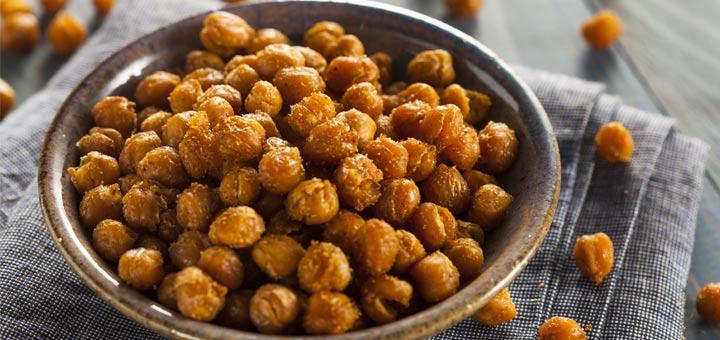 Cinnamon Roasted Chickpeas