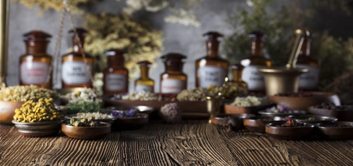 herbs-and-tincture-bottles