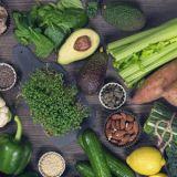 healing-foods-blackboard-background
