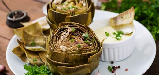 roasted-artichokes