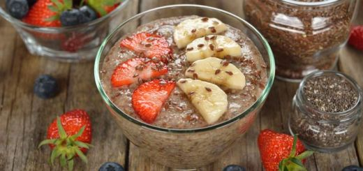 Raw Vegan Banana Flax Pudding