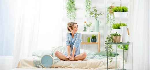 girl-with-plants-in-bedroom