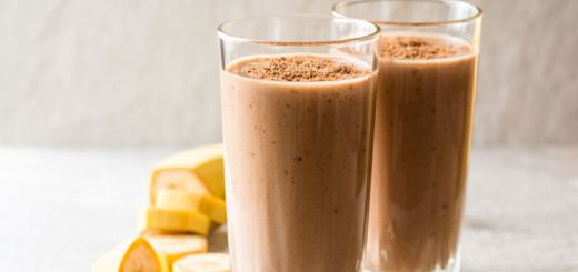 Chocolate Hemp Heart Smoothie