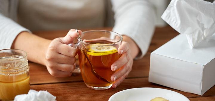 tissues-lemon-tea