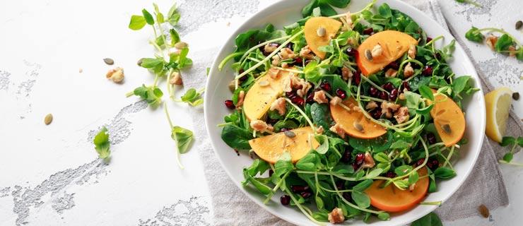 arugula-persimmon-salad