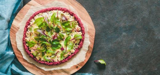 Beet Pizza Crust