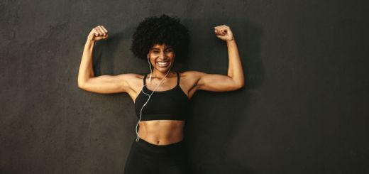 black-woman-flexing-arms