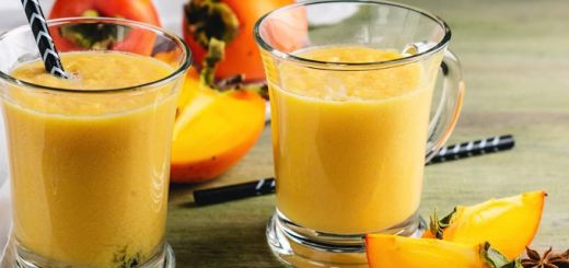 Peach Persimmon Smoothie
