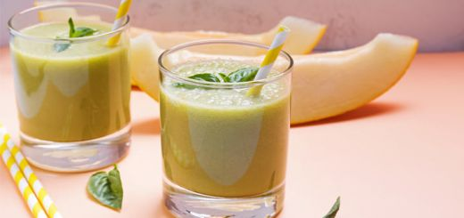 cantaloupe-spinach-smoothie