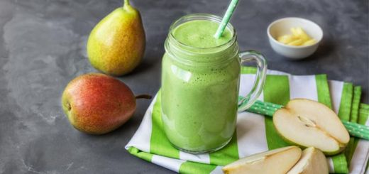 pear-green-smoothie