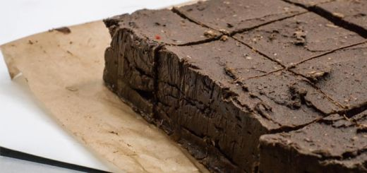 Raw Almond Brownie Fudge