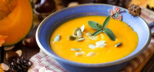 Apple Ginger Kabocha Squash Soup