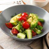 avocado-dill-tomato-salad