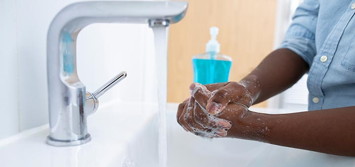 Clean Hands Help Protect Against Infection