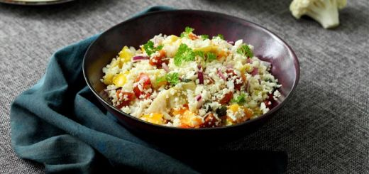 Vegetable Cauliflower No-Fried Rice