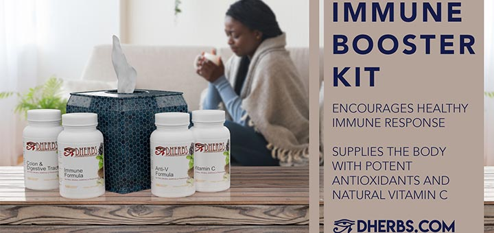 Get On The Defense With The New Dherbs Immune Booster Kit